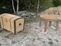 05 kirstu ja laua renoveerimine soodapritsiga